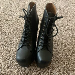 Speed Limit 98 Heeled Boots - Used